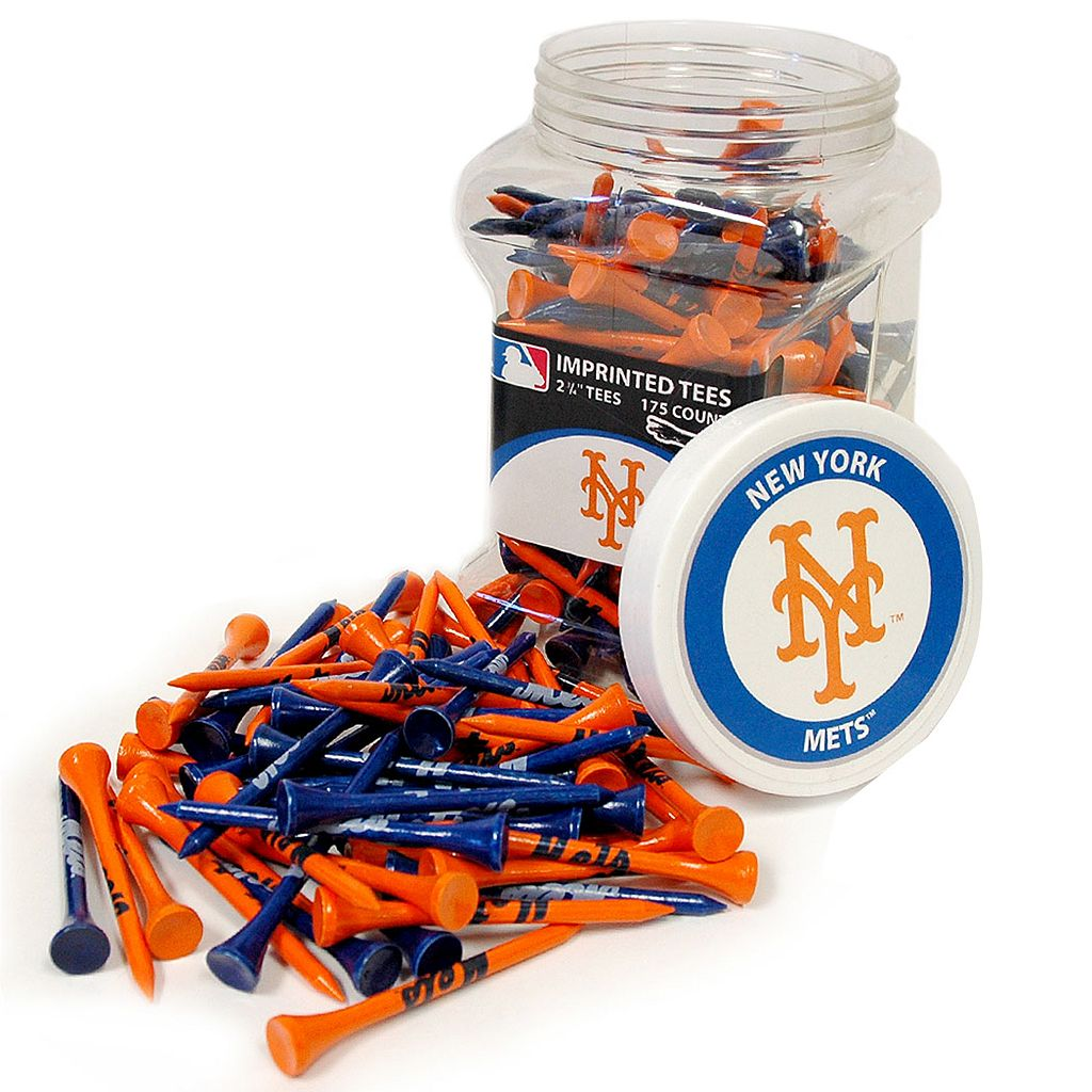 Team Golf New York Mets 175-ct. Golf Tee Jar