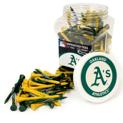 Team Golf Oakland Athletics 175-ct. Golf Tee Jar