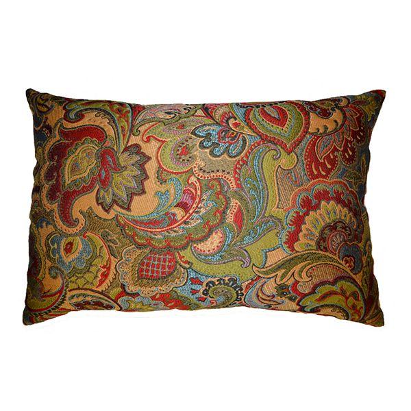 Josetta Decorative Pillow : Josetta Decorative Pillow ~ Red Decorative Pillows