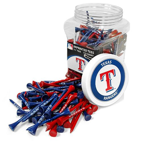 Team Golf Texas Rangers 175-ct. Golf Tee Jar