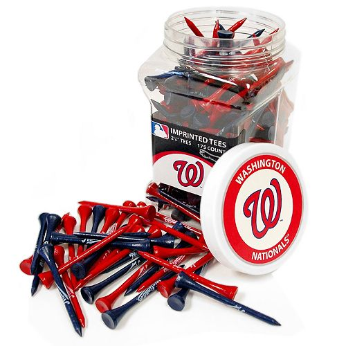 Team Golf Washington Nationals 175-ct. Golf Tee Jar