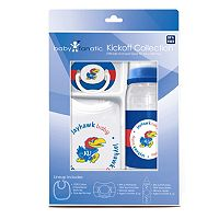Kansas Jayhawks 3 pc Baby Gift Set