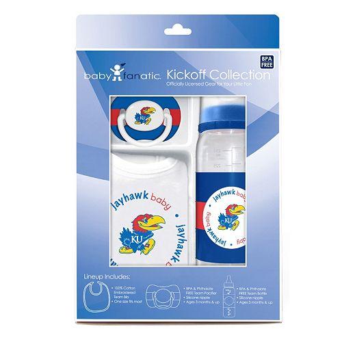 Kansas Jayhawks 3-pc. Baby Gift Set