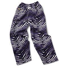 Men's Zubaz Baltimore Ravens Athletic Pants