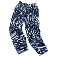 Men's Zubaz Carolina Panthers Athletic Pants