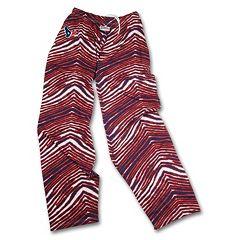 Men's Zubaz Houston Texans Athletic Pants