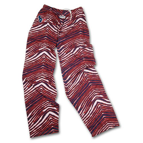Men's Zubaz Houston Texans Athletic Pants
