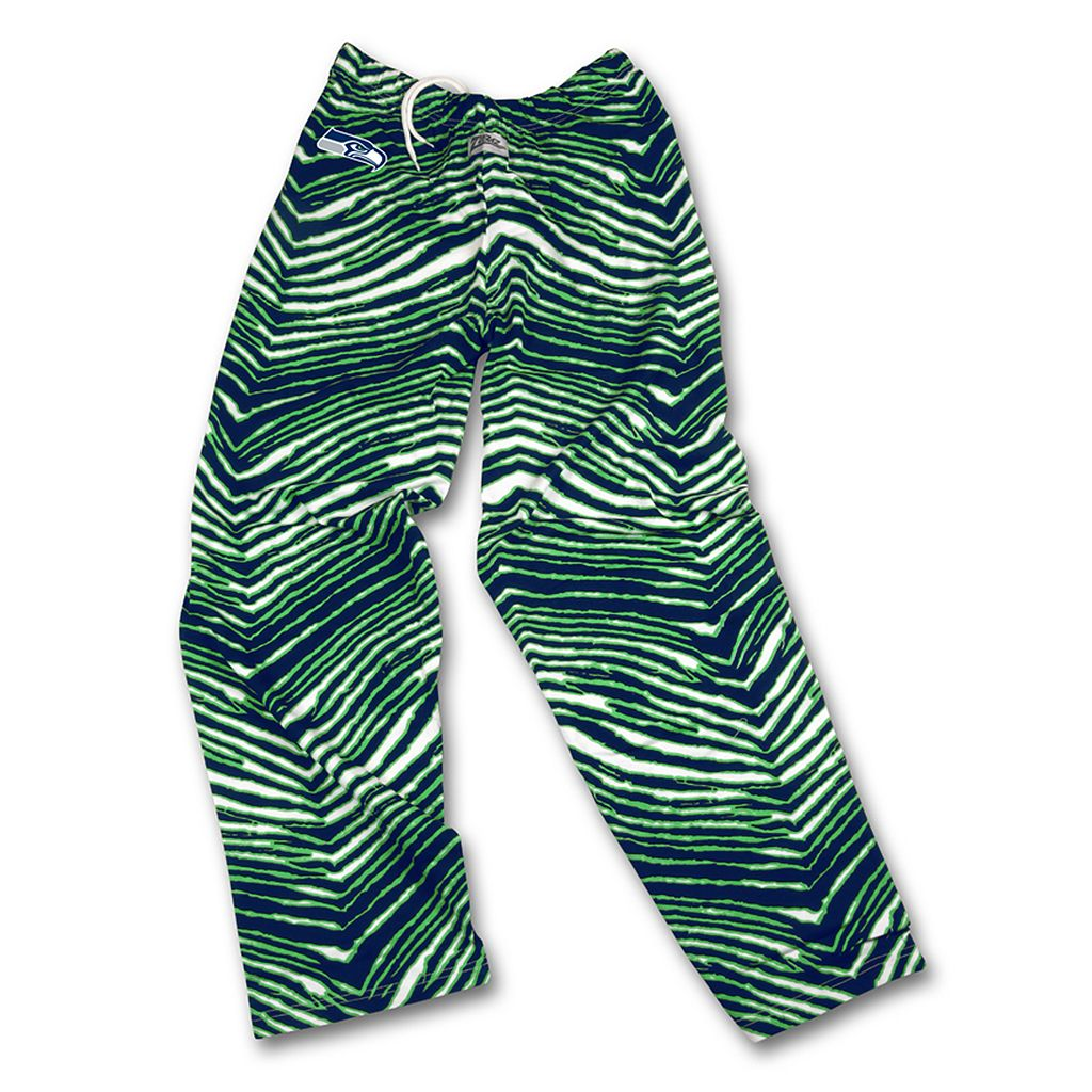 Men's Zubaz Seattle Seahawks Athletic Pants