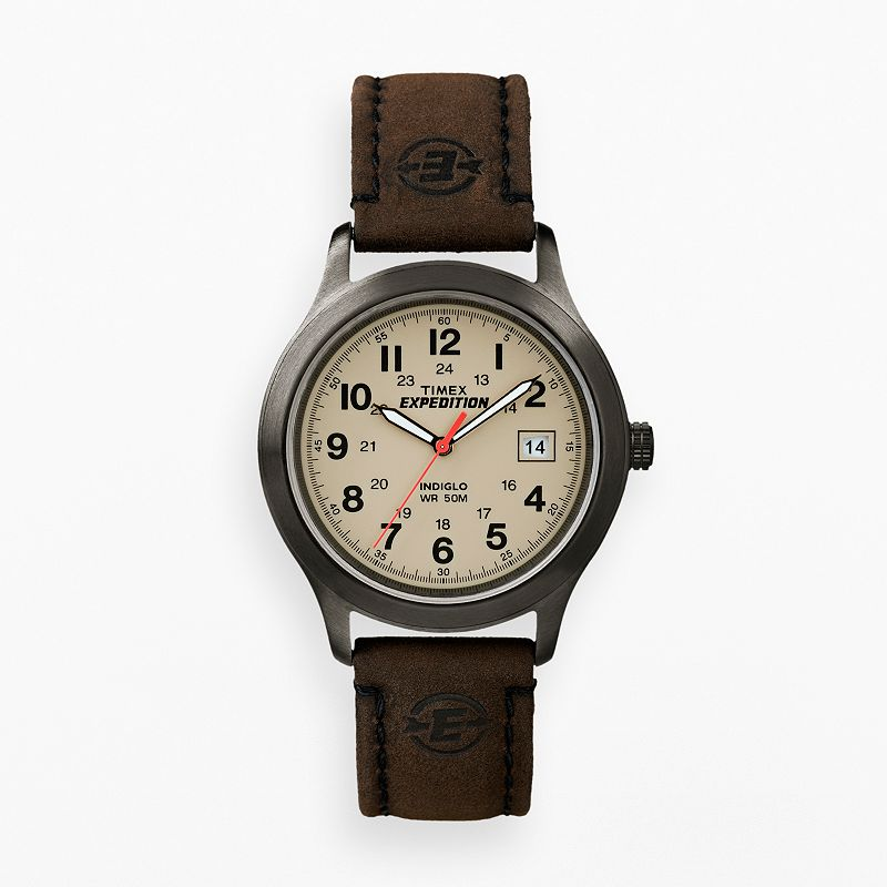 Territory men 39 s stainless steel watch for Watches kohls