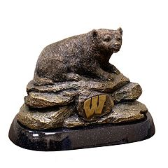 Wisconsin Badgers Tim Wolfe Sculpture