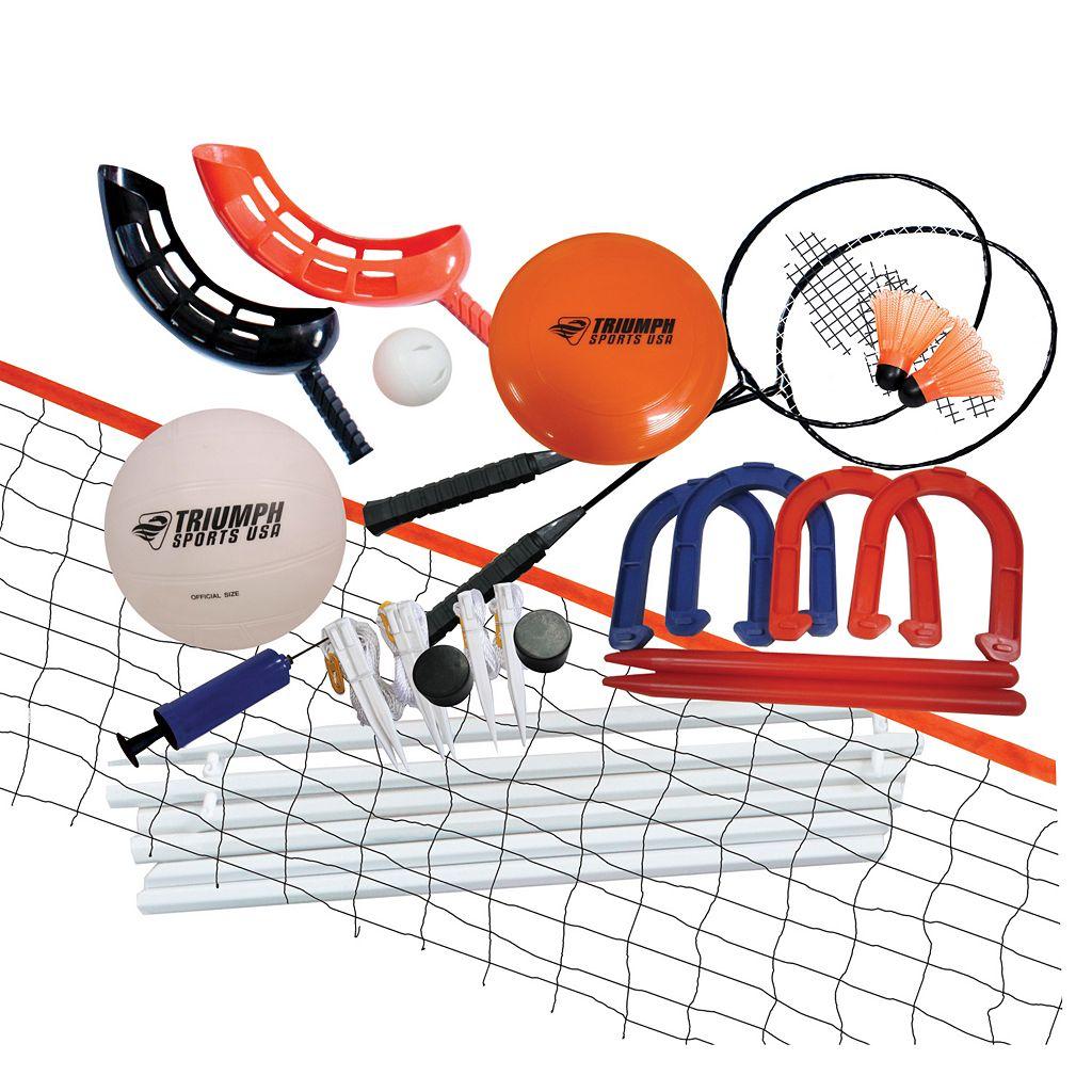 Triumph Sports USA Beginner Five Game Combo Set