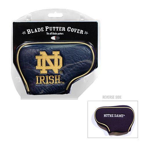 Team Golf Notre Dame Fighting Irish Blade Putter Cover