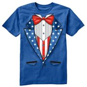 Urban Pipeline Uncle Sam Tux Tee - Boys 8-20