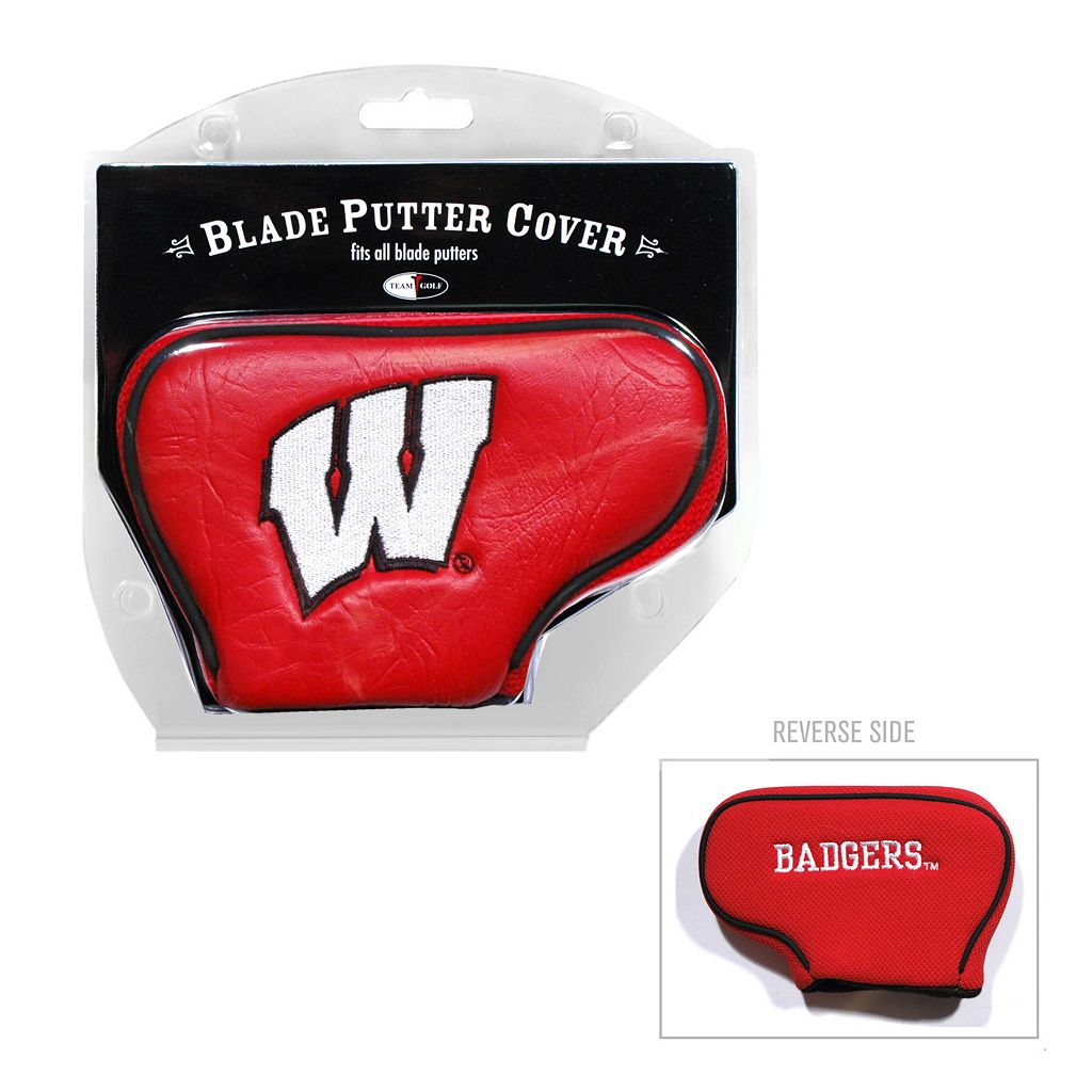 Team Golf Wisconsin Badgers Blade Putter Cover