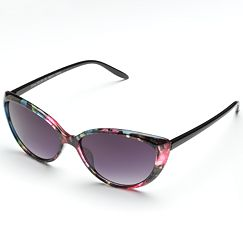 ELLE Floral Cat's-Eye Sunglasses