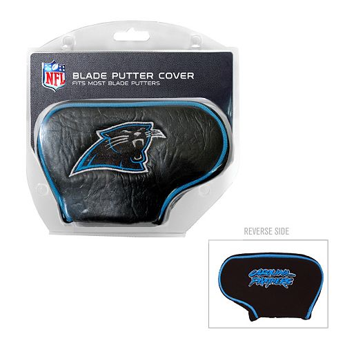 Team Golf Carolina Panthers Blade Putter Cover