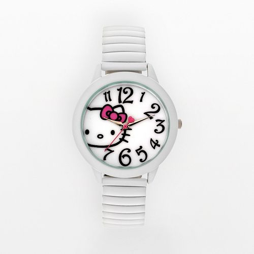 8ef1824f3 Hello Kitty® White Expansion Watch - Women