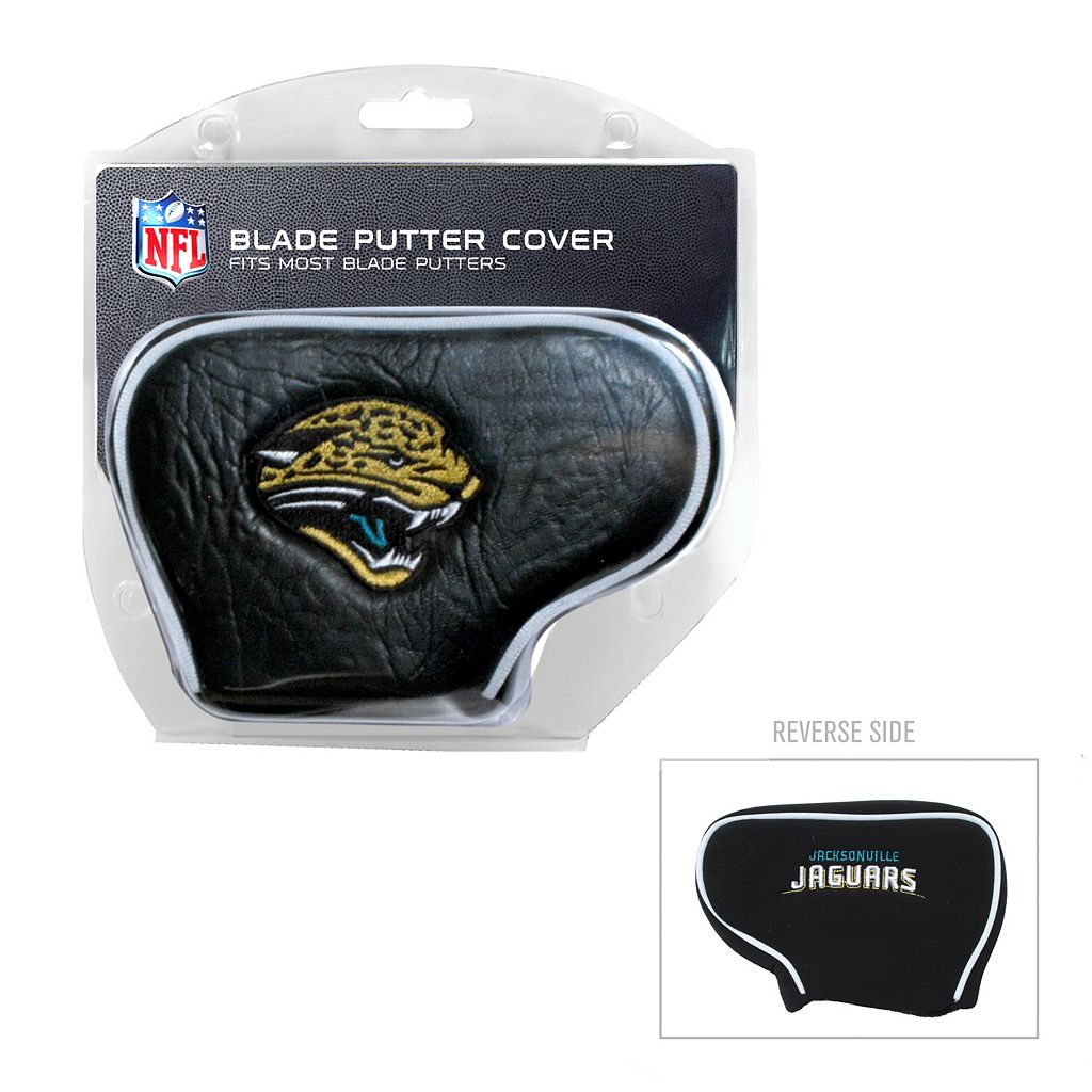 Team Golf Jacksonville Jaguars Blade Putter Cover