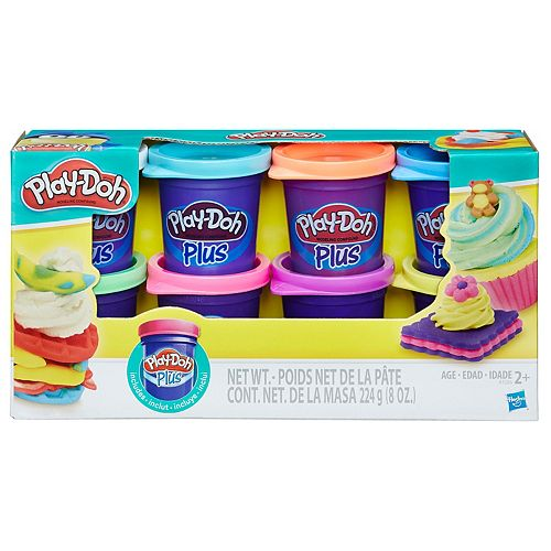 Play-Doh Plus 8-pk. by Hasbro