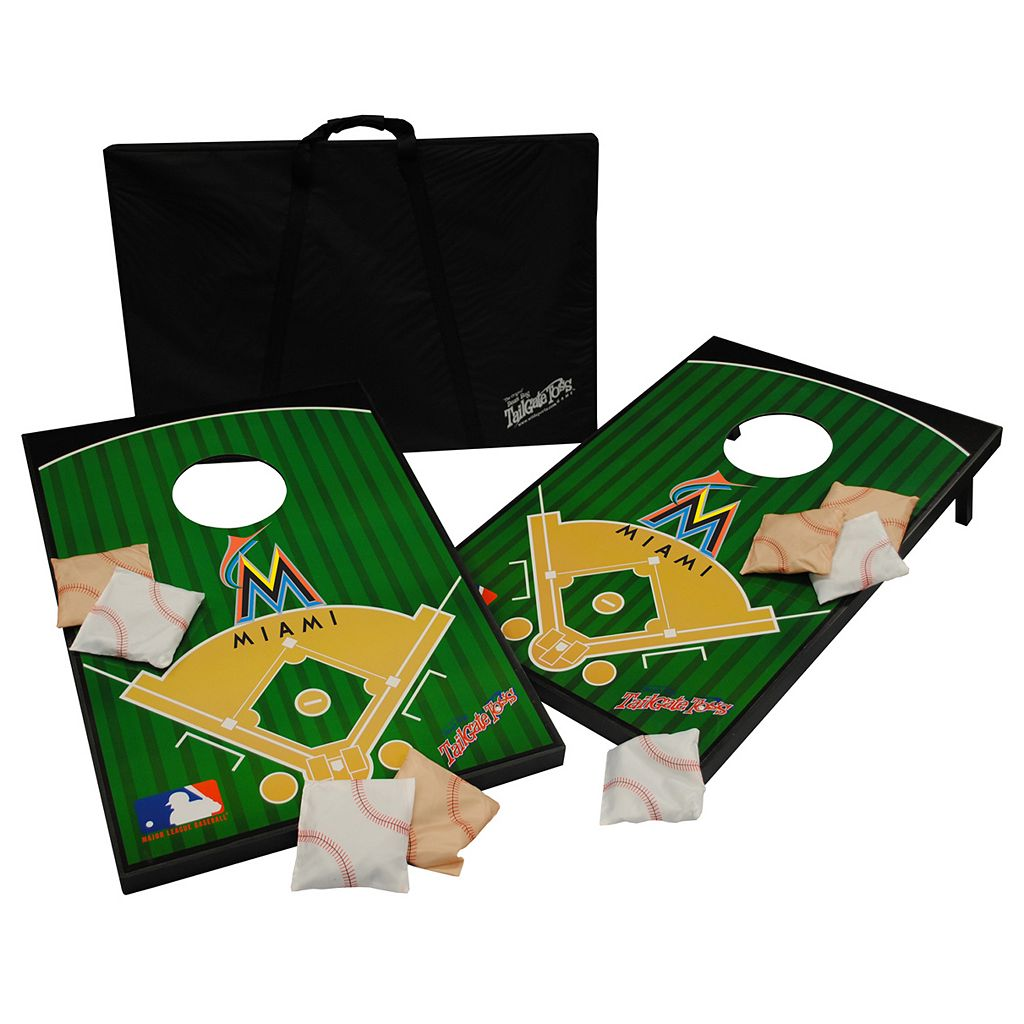 Miami Marlins Tailgate Toss Beanbag Game