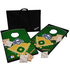 Milwaukee Brewers Tailgate Toss Beanbag Game