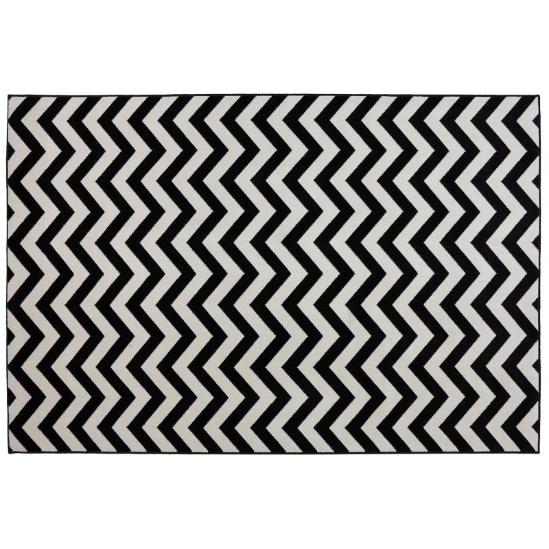 Chevron Outdoor Area Rug