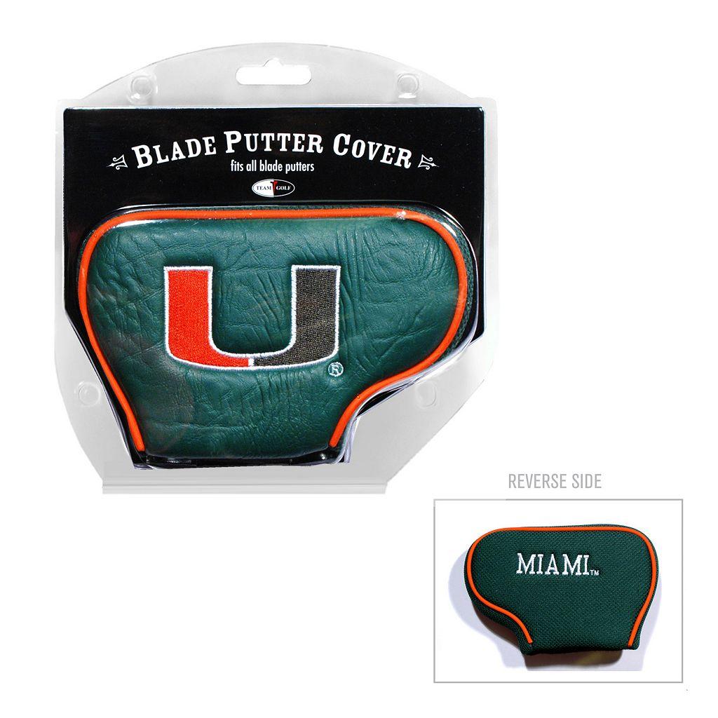 Team Golf Miami Hurricanes Blade Putter Cover