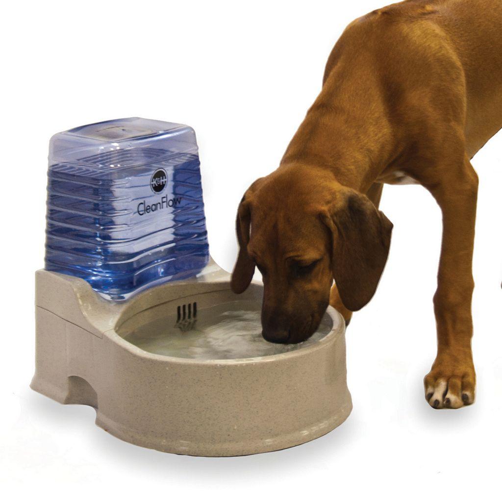 K&H Pet Clean Flow Water Dispenser with Reservoir - Large