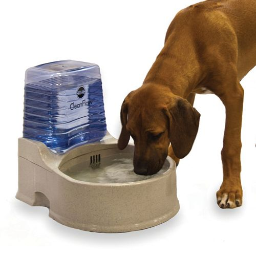 K&H Pet Clean Flow Water Dispenser with Reservoir - Large