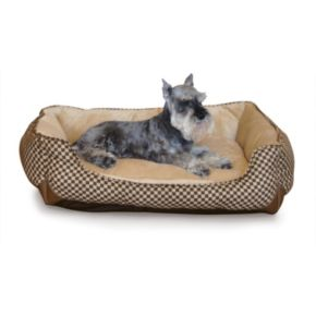 K and H Pet Lounge Sleeper Self-Warming Rectangle Pet Bed - 30'' x 24''