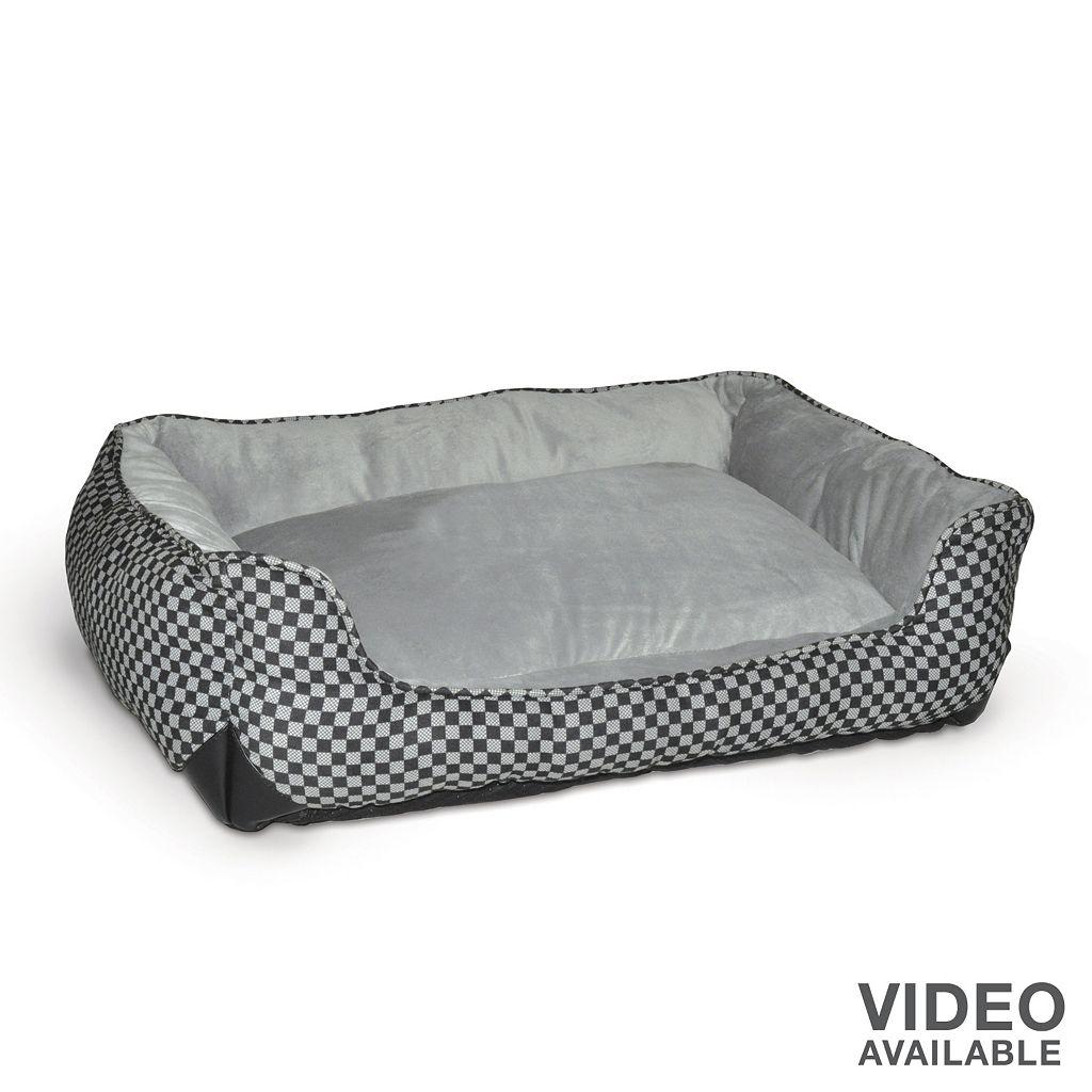 K&H Pet Lounge Sleeper Self-Warming Rectangle Pet Bed - 30