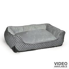K&H Pet Lounge Sleeper Self-Warming Rectangle Pet Bed - 30' x 24'
