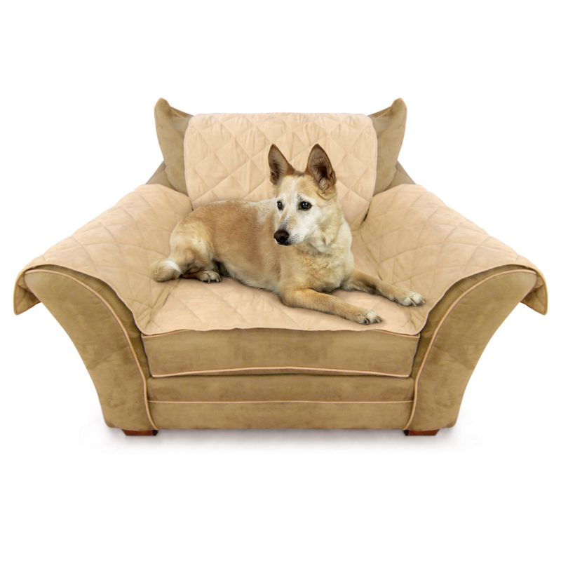 K and H Pet Furniture Cover Chair Pet Cover, Brown
