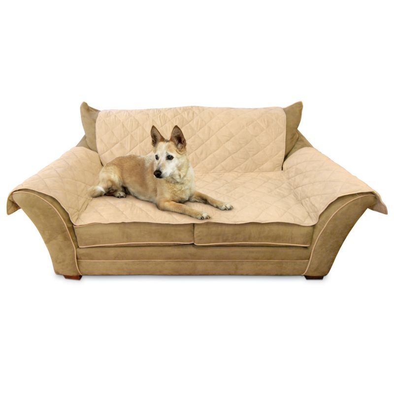 K and H Pet Furniture Cover Loveseat Pet Cover, Brown