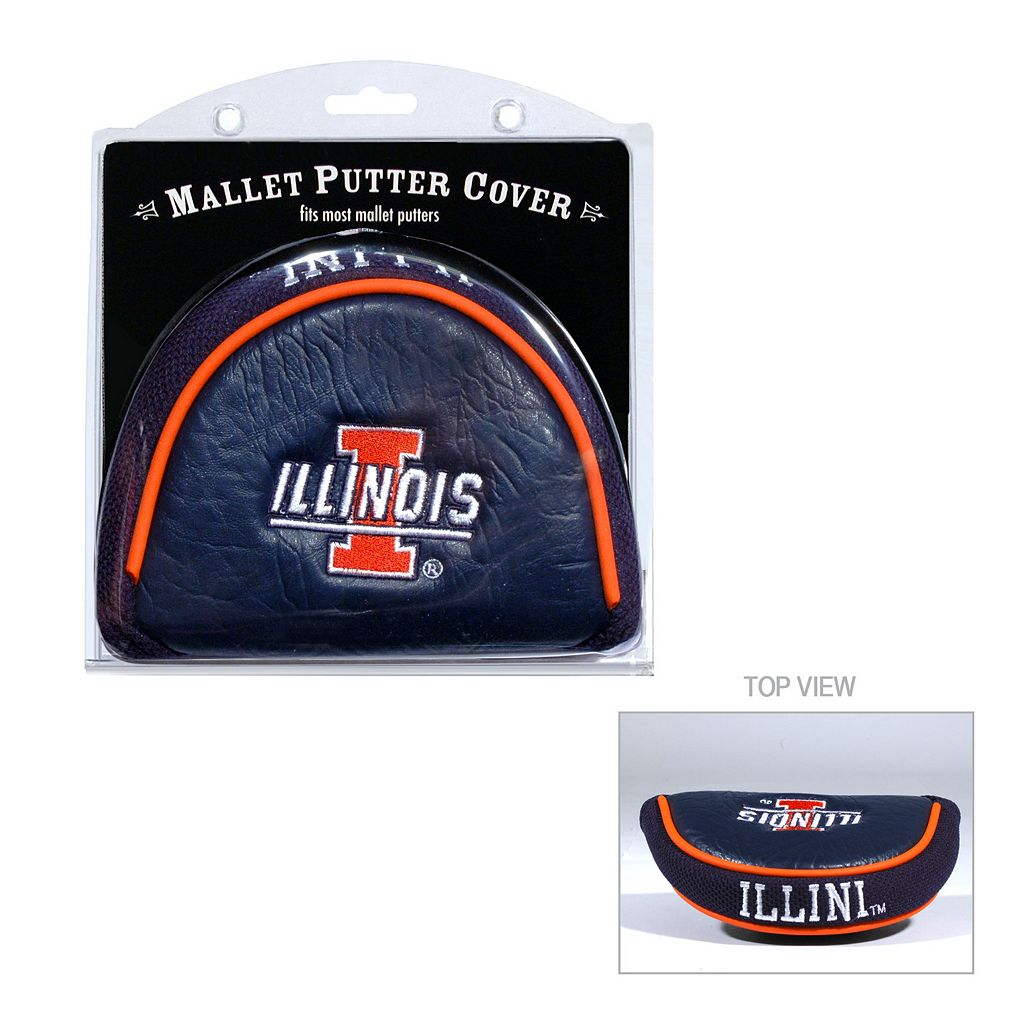 Team Golf Illinois Fighting Illini Mallet Putter Cover
