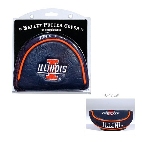 Team Golf Illinois Fighting Illini Mallet Putter Cover