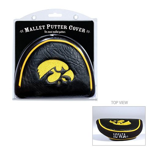 Team Golf Iowa Hawkeyes Mallet Putter Cover