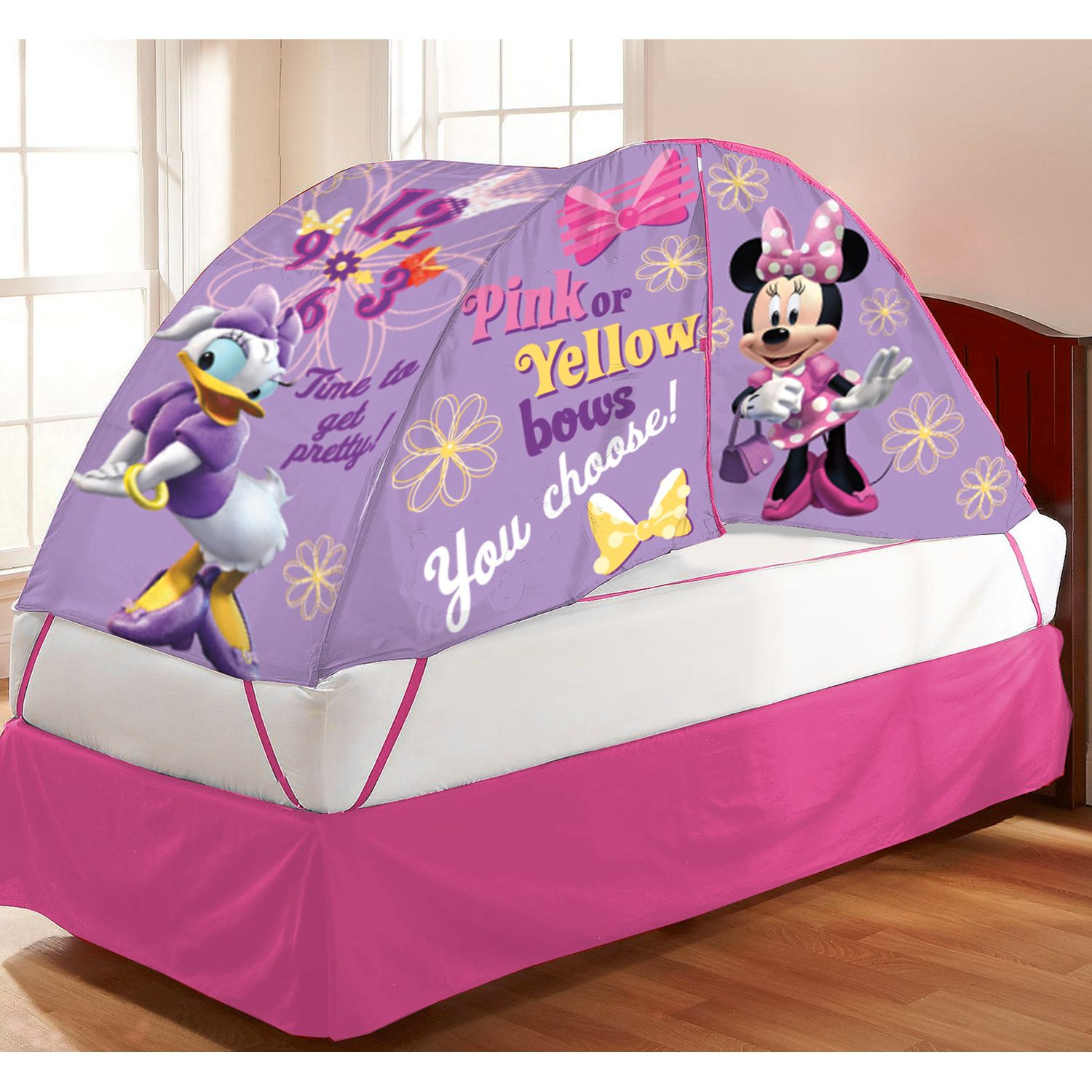& Disney Mickey Mouse u0026 Friends Minnie Mouse u0026 Daisy Duck Bed Tent