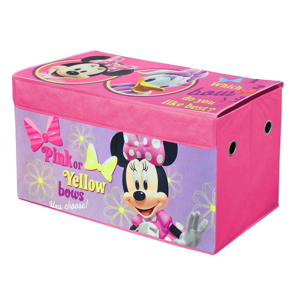 Disney Mickey Mouse & Friends Minnie Mouse Collapsible Storage Trunk