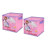 Disney Sofia the First 2-pk. Collapsible Storage Cubes
