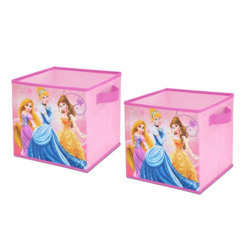 Disney Princess 2-pk. Collapsible Storage Cubes