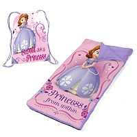 Disney Sofia the First Sleeping Bag & Sackpack Slumber Set