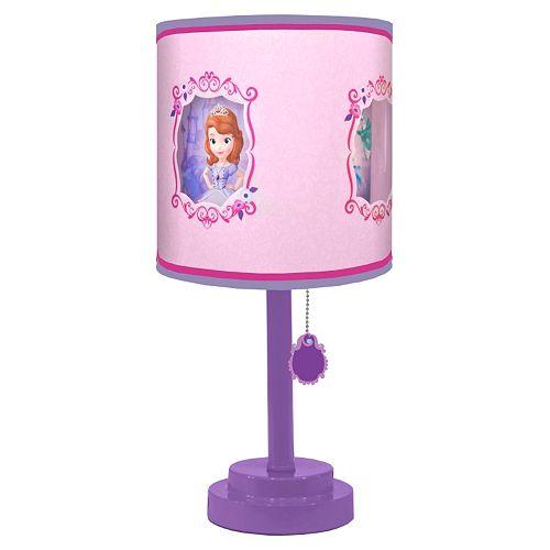 Disney Sofia The First Die Cut Table Lamp