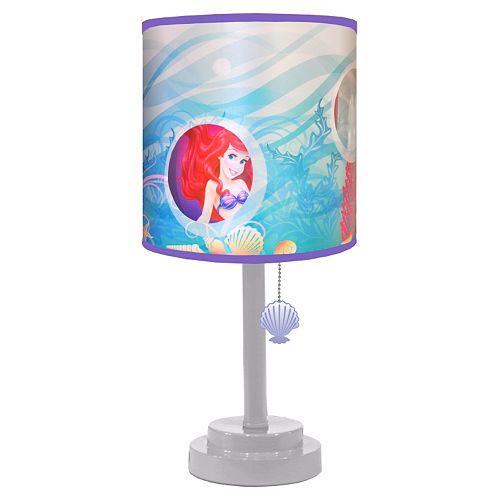 Disney Princess Ariel Die Cut Table Lamp