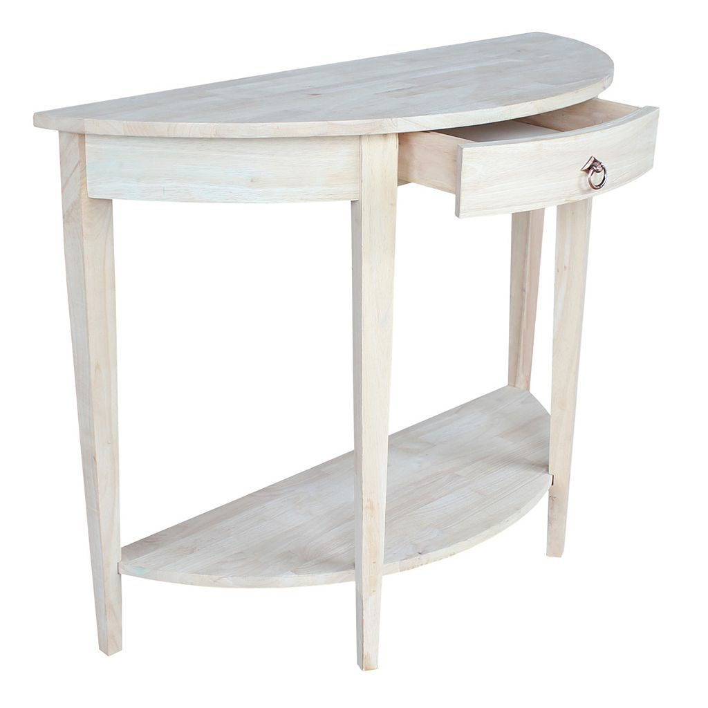 Half-Moon Console Table