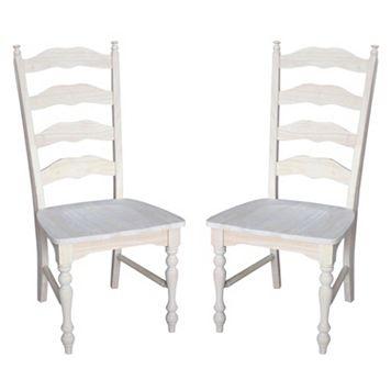2-pc. Maine Ladder-Back Chair Set