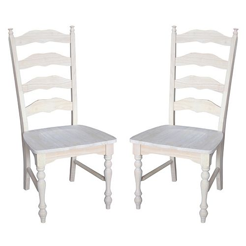 2-pc. Maine Ladder-Back Chair Set