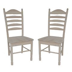2-pc. Bedford Ladder-Back Chair Set