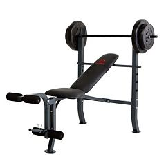 Marcy Diamond Weight Bench & 80-lb. Weight Set