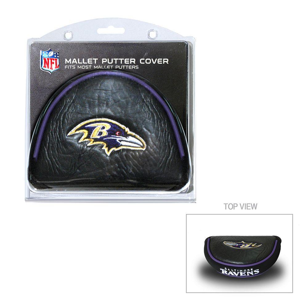 Team Golf Baltimore Ravens Mallet Putter Cover
